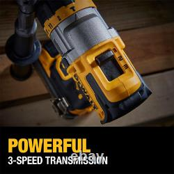 20-Volt Max Lithium Ion Cordless Brushless Hammer Drill/Driver Combo Kit 2-Tool
