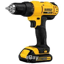 20-Volt Max Lithium-Ion Cordless Drill/Driver And Impact Combo Kit (2-Tool) With