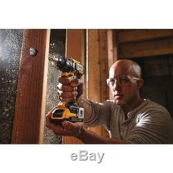 20-Volt Max Xr Lithium-Ion Cordless Brushless Drill/Impact Combo Kit (2-Tool) Wi