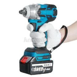 288VF 800NM Cordless Electric Impact Wrench 1/2'' Driver High Power Drill Tool