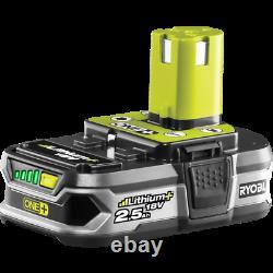 4PC RYOBI ONE+ 18V Combo Cordless Power Tool Kit Drill Driver Circular Saw Grind