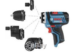 BOSCH GSR 10.8V-15 FC Professional Drill Driver Bare tool Body