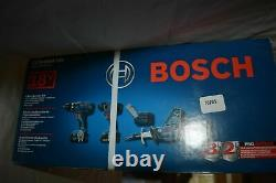 Bosch CLPK495-181 4-Tool 18-Volt Lithium Ion Cordless Combo Kit with Soft Case NEW
