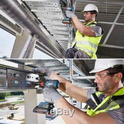 Bosch GDX 18V 200C 2-in-1 EC Brushless 147mm 200Nm 3,400rpm L-Boxx Bare Tool