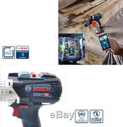 Bosch GSB 18V-85 C Pro. Hammer Drill Bluetooth LED 13mm 18V L-Boxx Bare Tool