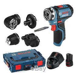 Bosch GSR 10.8V-15 FC Cordless Professional Driver Bare-Tool + L-Boxx + Charger