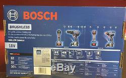 Bosch GXL18V-240B22 18 Volt 2-Tool Compact Hammer Drill & Impact Driver Combo
