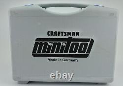 Craftsman Minitool 12v Power Tool Set