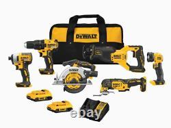 DEWALT 20V MAX BRUSHLESS 6 Tool Kit (DCK675D2)