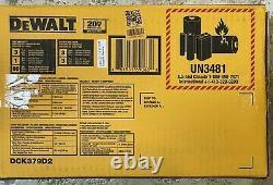 DEWALT 20V MAX Brushless Cordless 3-Tool Combo Kit DCK379D2
