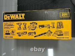 DEWALT 20V Max Cordless Drill Combo Kit, 10-Tool (DCK1020D2) New