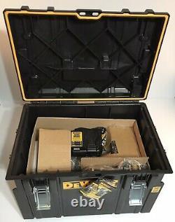 DEWALT 20V XR Cordless Brushless Li-Ion 6-Tool Combo Kit with Tough System Box