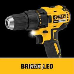 DEWALT 2-Tool 20-Volt Max Brushless Power Tool Combo Kit with Soft Case DCK277C2