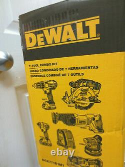 DEWALT 7-Tool 20V MAX Cordless Drill Combo Kit (DCK771D1M1)