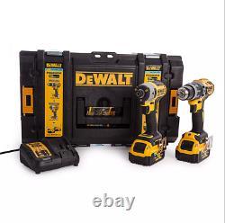 DEWALT DCK2500P2B XR Brushless Tool Connect Twin Pack 18V 2 x 5.0Ah