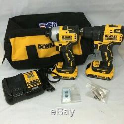 DEWALT DCK278C2 ATOMIC 20V MAX 2-Tool Brushless Combo Kit, MD635