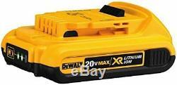 DEWALT DCK283D2 20V MAX XR Cordless Drill Combo Kit, Brushless, 2-Tool