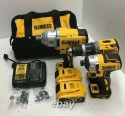 DEWALT DCK351M2 20V Cordless 3 Tool Hammer drill&Impact Driver Combo Kit N