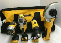 DEWALT DCK661D1M1 20V MAX Li-Ion Cordless 6-Tool Combo Kit (2 Ah/4 Ah) N