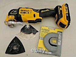 DeWALT 4 Piece 20V Tool Set 1/2 Drill/Driver, 1/4 Impact, Multi-Tool, Light