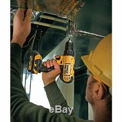 DeWALT DCD771C2 20V MAX Lithium-Ion 1/2 Compact Drill/Driver Tool Kit