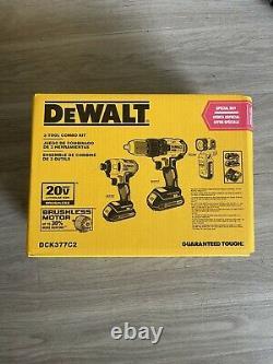DeWALT DCK377C2 20V MAX Cordless 3-Tool Combo Kit with Contractor Bag