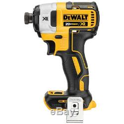 DeWALT DCK484D2 20-Volt 4-Tool Drill/Driver/Reciprocating SawithLight Combo Kit