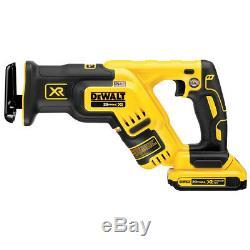 DeWALT DCK494P2 20-Volt 4-Tool Hammer Drill, Driver, Recip Saw and Light Combo