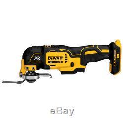 DeWALT DCK684D2 20-Volt 6-Tool Drill/Driver/Saws/Oscillating Tool/Light Combo