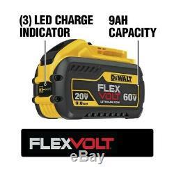 DeWALT FLEXVOLT 60-Volt Lithium-Ion Cordless Combo Kit (2-Tool) DCK293D1X1
