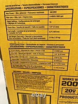 DeWalt DCK278C2 Atomic 2-Tool Combo Kit 20V MAX Brushless Cordless BRAND NEW