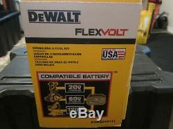 DeWalt DCK299D1T1 20V Flexvolt 2 Tool Drill/Driver Combo Kit