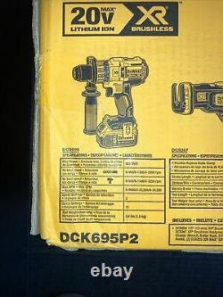 DeWalt DCK695P2 20V MAX XR Li-Ion 6-Tool Combo Kit