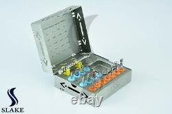 Dental Implant Surgical Drills Kit Basic Tools Ratchet Hex Drivers Parallel Pins