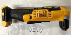 Dewalt DCD740B 20 Volt 3/8 Right Angle Drill Driver Bare tool NEW