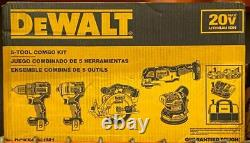 Dewalt DCK560D1M1 20V Brushless 5 Tool Combo Kit NEW Free Shipping