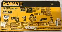 Dewalt-DCK695P2 20 V MAX XR Li-ion 6 Tool Combo Kit