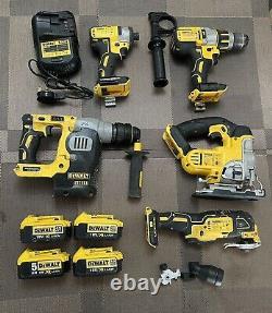 Dewalt Professional Tools Drill, impact Driver, SDS Drill, MultiTool, Batteries