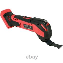 Excel EXL551B 18V Oscillating Multi Tool Cutter with Quick Release Blade Body