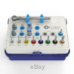 Full Dental Implant Surgical Kit, High Quality, Drills, Drivers, Ratchet, Tool