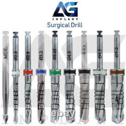 Guided Kit Dental Implant Surgical Tool Instrument Drills Drivers Internal Hex