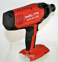 HILTI SID 8-A18 CORDLESS IMPACT DRIVER DRILL 21.6v Heavy-Duty Bare Tool Only