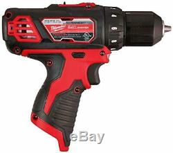 M12 Milwaukee 3/8 Drill Driver Kit Taladro atornillador Inalambrico Tool Only