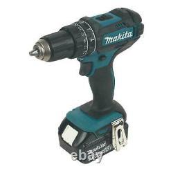Makita 4-Piece Power Tool Kit Set Cordless Drill Saw Jigsaw Driver DLX4088MX1