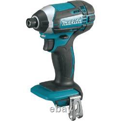 Makita Hammer Drill Combo Kit 18-Volt Lithium-Ion Cordless Brushed Motor 5-Tool