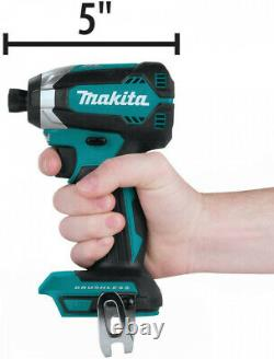 Makita Power Tool Combo Kit 6-Piece LED Light 18 Volt Brushless Keyless Chuck