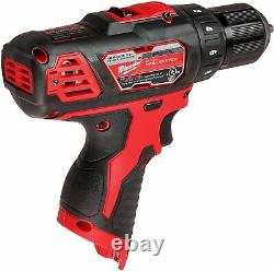 Milwaukee 2407-20 NEW M12 Cordless 3/8 Drill/Driver BARE TOOL