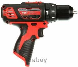 Milwaukee 2408-20 Hammer Drill Driver Tool Only M12 12V Lithium-Ion Cordless