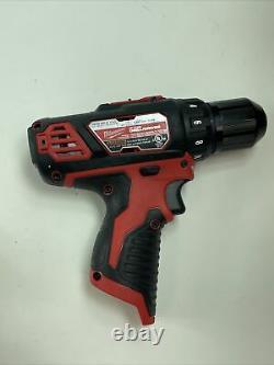 Milwaukee 2494-22 12V Li-Ion Cordless Drill/Impact Driver Combo Kit (2-Tool)