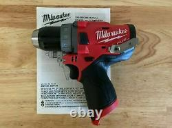 Milwaukee 2503-20 M12 FUEL 1/2 Cordless Drill Driver Brushless Tool Only NEW
